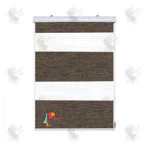 زبرا طرح چوب رنگ ونگه کد SB-105
